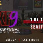 Sabertooth vs Vkrump | Boys 1v1 Semi-Final | Indian Krump Festival 9 2019 | TheVerb Official