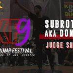 Subroto Sen aka Dont Stop   Judge Showcase   Indian Krump Festival 9 2019   TheVerb Official