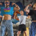 """Epic Gym Dance Workout """"Guns, Shields, Abs n' Wheels"""" Song by Buff Dudes"""