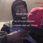  Krump 2019 Smoove aka J-Smoove  illusions and Hat Tricks 4  SEATTLE ,WA 