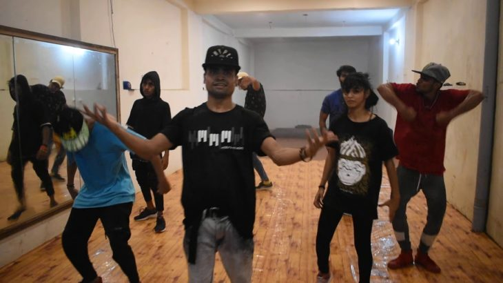 MAJIN BOO KRUMP WORKSHOP GROUP SELCTION