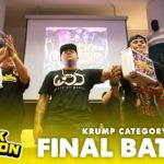 Momma Dynamix vs LiL Shutdown | 1v1  Krump Final Battle | Buck Invasion Singapore | RPProds