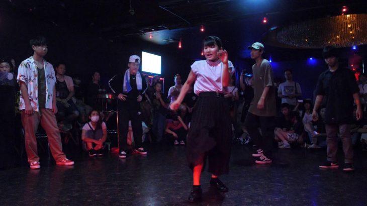 POP LOCK WAACK HOUSE BREAK circle 中高生部門 D.N.A 19/7/28 DANCE BATTLE