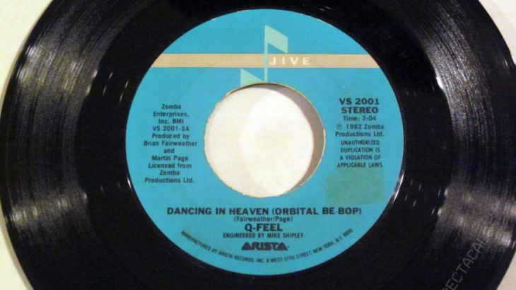 Q-Feel – Dancing In Heaven (Orbital Bebop) (vinyl rip)