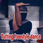 Tutting dance video | freestyle | #Monster man | dubstep #freestyle performance | anup chhetri