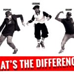 What's the difference between popping, locking, and krump?