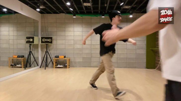 2020년 Flextap 비밥댄스(bebop: uk jazz dance) 수업 안내.