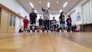 HIPHOP DANCE ヒップホップダンス キッズ入門クラス RISE 四街道 2019 2.5 レッスン♪