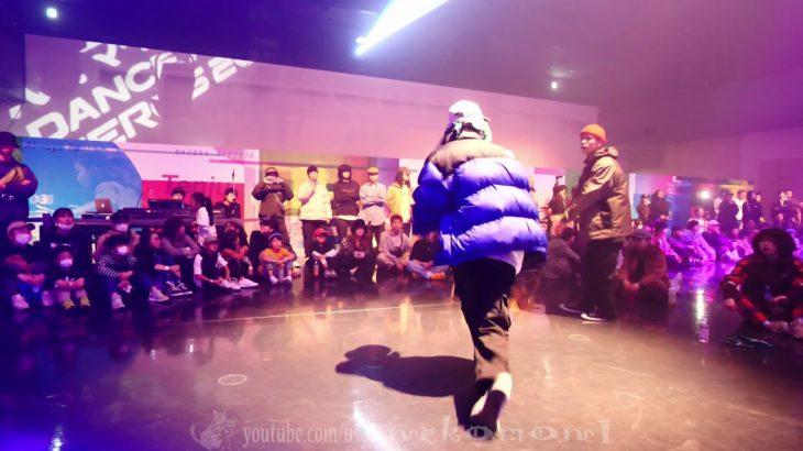 IKKI vs SAKURA BEST8 HIPHOP DANCE ALIVE HERO'S 2020 KANSAI CHARISMAX