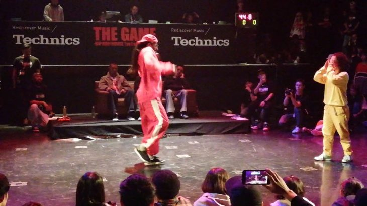ICEE vs MIHO BEST8 HIPHOP THE GAME 2019 DANCE BATTLE