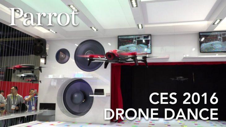 Drone Dance – Parrot BEBOP 2 – CES 2016