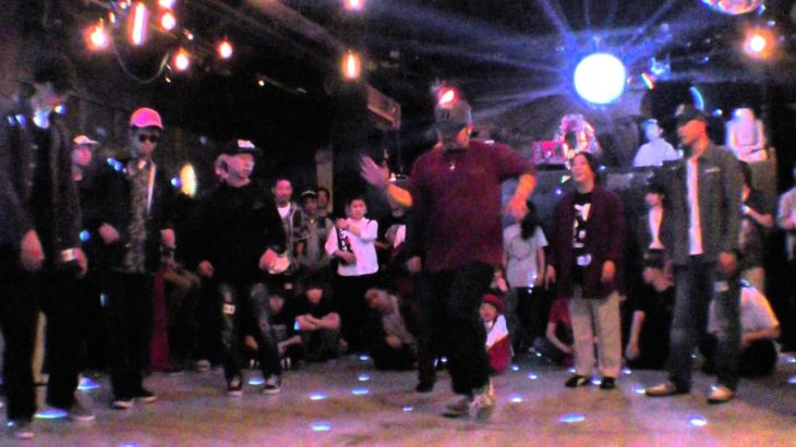H circle preliminary / POP CITY TOKYO 2016 POPPIN' DANCE BATTLE