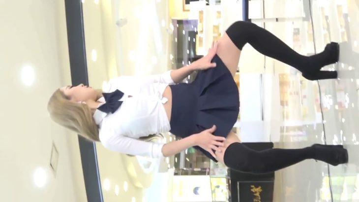 パンチラリズム 可愛い韓国の女子高生JKのフリフリダンス