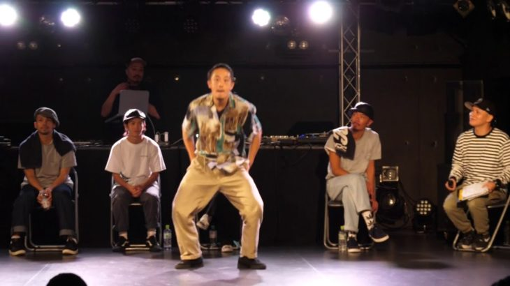 UJ vs あつを BEST8 大学生・専門学生 BATTLE LOCKIN DANCE BATTLE 17/8/17