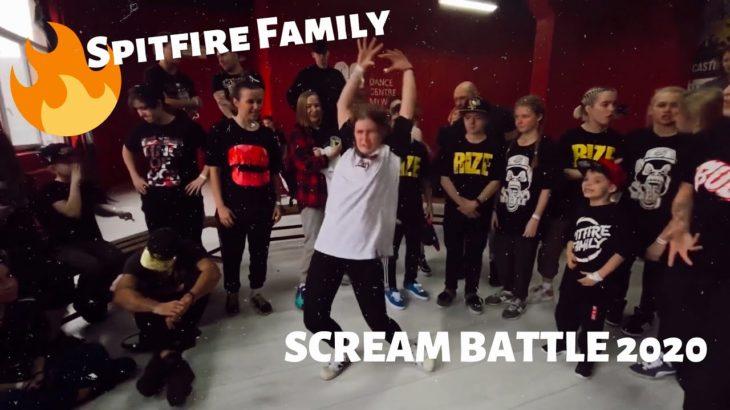 VLOG #8| SCREAM BATTLE| KRUMP|spitfire family| DANCE| FREESTYLE|dcm|